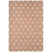 <strong>Capel Rugs</strong> Elsinore Cinnamon Honeycombs Indoor/Outdoor Rug