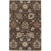 <strong>Garden Terrace Beige Blooms/Geometric Rug</strong> by Capel Rugs