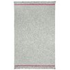 Capel Rugs Rookie Steel Grey Fuchsia Solid Area Rug