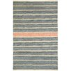 Capel Rugs Barred Beige Apricot Striped Area Rug