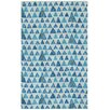 Capel Rugs Charisma Blue Pyramid Area Rug