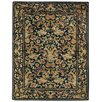 <strong>Capel Rugs</strong> Garden Farms Black Floral Rug