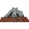 <strong>Lava Rock and Log Kit For Outdoor Fire Pits</strong> by Uniflame Corporation