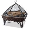 Uniflame Corporation Bronze Outdoor Firebowl with Lattice