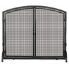 <strong>Uniflame Corporation</strong> 1 Panel Wrought Iron Fireplace Screen