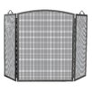 <strong>Uniflame Corporation</strong> 3 Panel Olde World Iron Arch Top Fireplace Screen
