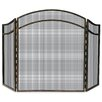 <strong>Uniflame Corporation</strong> 1 Panel Wrought Iron Arch Top Fireplace Screen
