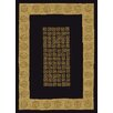 China Garden Nightwood Black/Yellow Rug