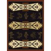 China Garden Trade Winds Black/Beige Rug