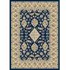 Dynamic Rugs Nain Navy Persian Rug