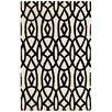 Dynamic Rugs Palace Ivory/Black Area Rug