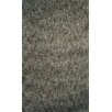 Dynamic Rugs Luxury Shag Dark Gray Area Rug