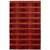 Dynamic Rugs Lounge Red Area Rug