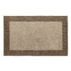 <strong>Dynamic Rugs</strong> Manhattan Taupe Solid Bordered Rug