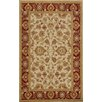 Dynamic Rugs Sapphire Ivory / Red Oriental Rug