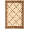 <strong>Dynamic Rugs</strong> Yazd Ivory / Brown Geometric Rug