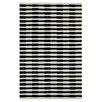Dynamic Rugs Aria Striped Ivory/Black Area Rug