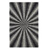 Dynamic Rugs Aria Ivory/Black Area Rug