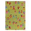 <strong>Dynamic Rugs</strong> Fantasia Alphabet Green Kids Rug
