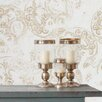 Tres Tintas Barcelona Heritage Eclipse Flock Wallpaper