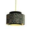 dCOR design Venlo 1 Light Drum Pendant