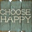 Boulder Innovations Choose Happy Wall Décor