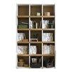Mercury Row Lynx Bookcase in Cream & Maple