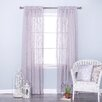 Best Home Fashion, Inc. Sheer Rod Pocket Curtain Panels (Set of 2)