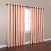 Best Home Fashion, Inc. Wide Width Damask Jacquard Grommet Curtain Panels (Set of 2)