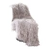 Best Home Fashion, Inc. Mongolian Lamb Faux Fur Lounge Throw Blanket