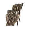 Wild Mannered Faux Fur Lounge Throw Blanket