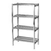 "Channel Manufacturing Dunnage 64"" H Four Shelf Shelving Unit"