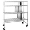 Channel Manufacturing Tray Drying Rack