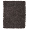 Anji Mountain Silky Shag Brown Area Rug