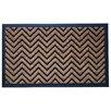 A1 Home Collections LLC Brush Chevron Doormat