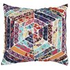 A1 Home Collections LLC Potpourri Hexagon Patchwork Throw Pillow