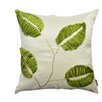 A1 Home Collections LLC Potpourri Patchwork Leaf Decorative Throw Pillow