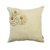 A1 Home Collections LLC Potpourri Floral Woolen Felt Throw Pillow