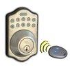 Lockey USA Edigital Keyless Electronic Deadbolt Lock and Remote Set