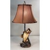 """Judith Edwards Designs Bass 26"""" H Table Lamp with Bell Shade"""