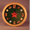 "Judith Edwards Designs Sports 12"" Clock"