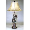 "Judith Edwards Designs Sea turtle 32"" H Table Lamp with Bell Shade"