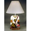 """Judith Edwards Designs Hockey Jersey 21"""" H Table Lamp with Empire Shade"""