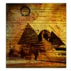 Ready2hangart 'Egyptian Pyramid' by Alexis Bueno Graphic Art on Canvas
