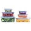 Popit! Stackit! 12-Piece Airtight Container Set