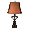 "Jenkins Lamp, Inc. Fleur De Lis 31"" H with Empire Shade (Set of 2)"