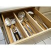 Axis International 2 Piece Natural Wood Kitchen Drawer Divider Set