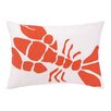 Kate Nelligan Lobster Outdoor Pillow