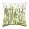 Kate Nelligan Seagrass Embroidered Linen Pillow