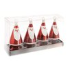 Boston International Santa Ornament & Place Card Holder (Set of 4)